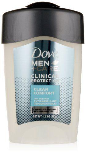 Dove Men Care Clinical Protection Antiperspirant Deodorant Solid Clean Comfort 17 Oz 2 Pk Click Imag Antiperspirant Deodorant Dove Men Care Antiperspirant