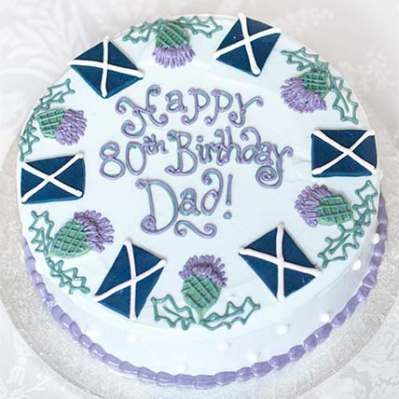 Scottish Birthday Cakemens Birthday CakeEdinburgh and Glasgow
