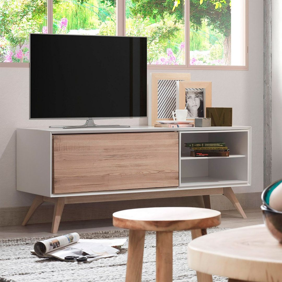 Mueble Tv Nordico Interior Design Pinterest Mueble Tv Tv Y  # Muebles Suspendidos Para Tv