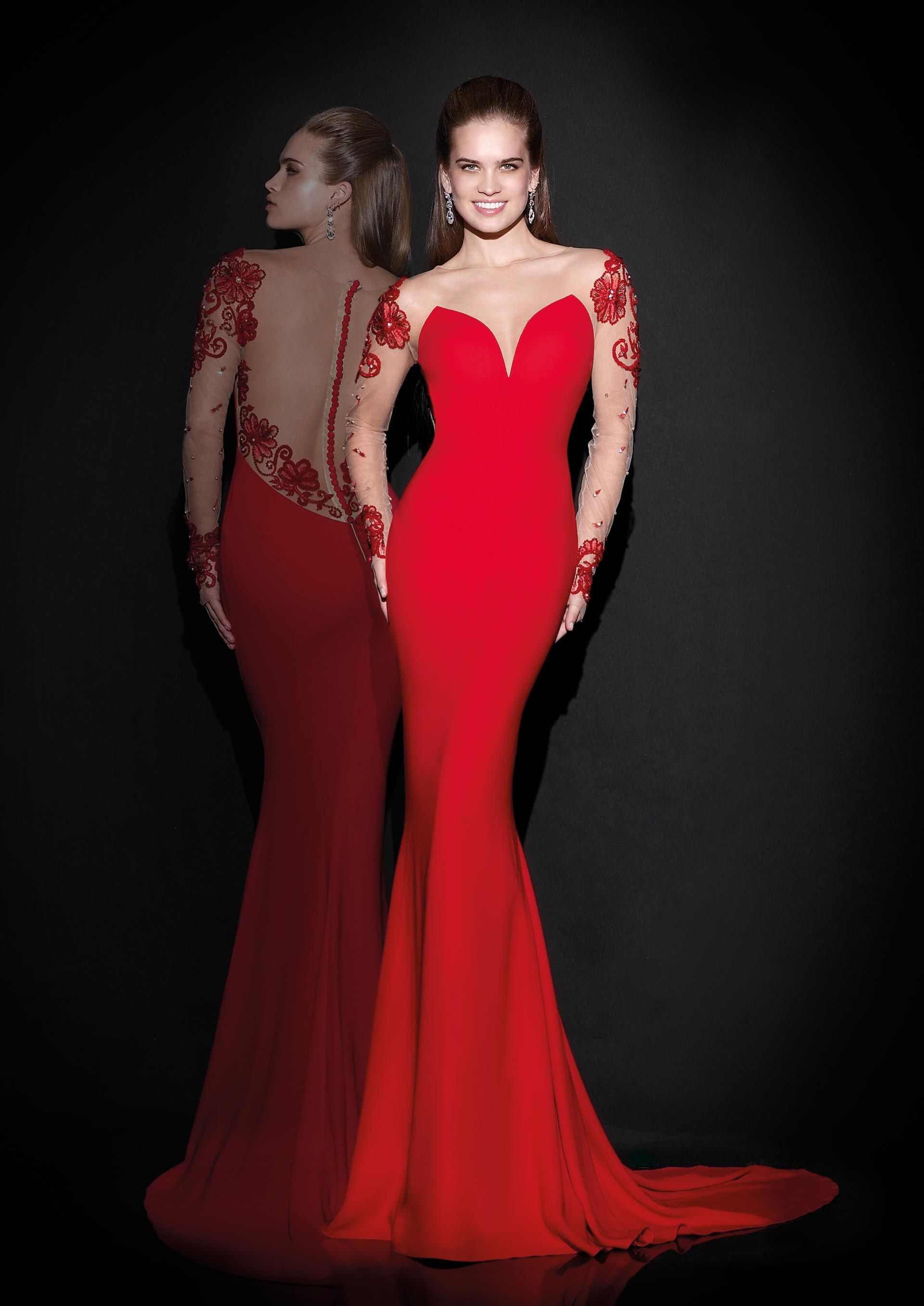 Vestidos de Noche del diseñador turco Tarik Ediz - Vestidos Mania ...