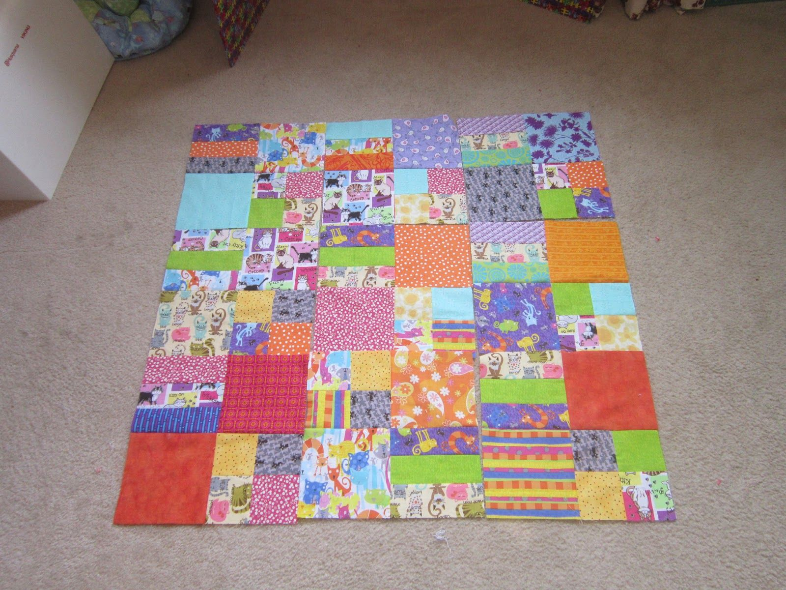 easy lap quilt / first quilt | kids sewing projects | Pinterest ... : easy first quilt - Adamdwight.com