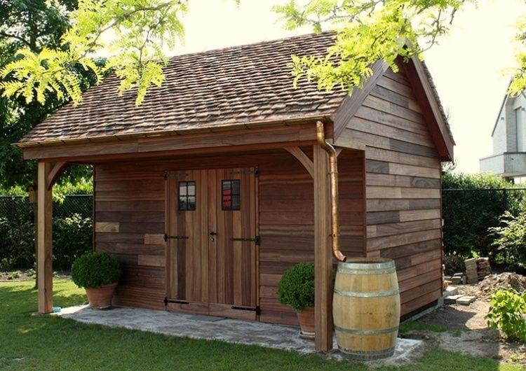 Tuinhuis Landelijke Stijl Woodarts Houses Pinterest Backyard