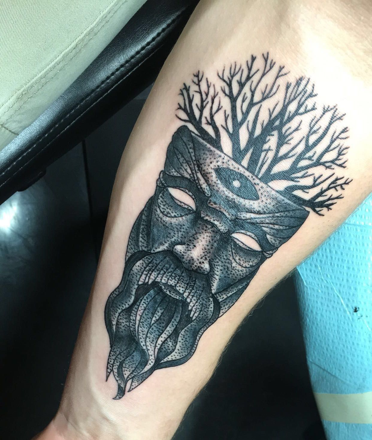 Forearm tattoo by michael barber out of best ink