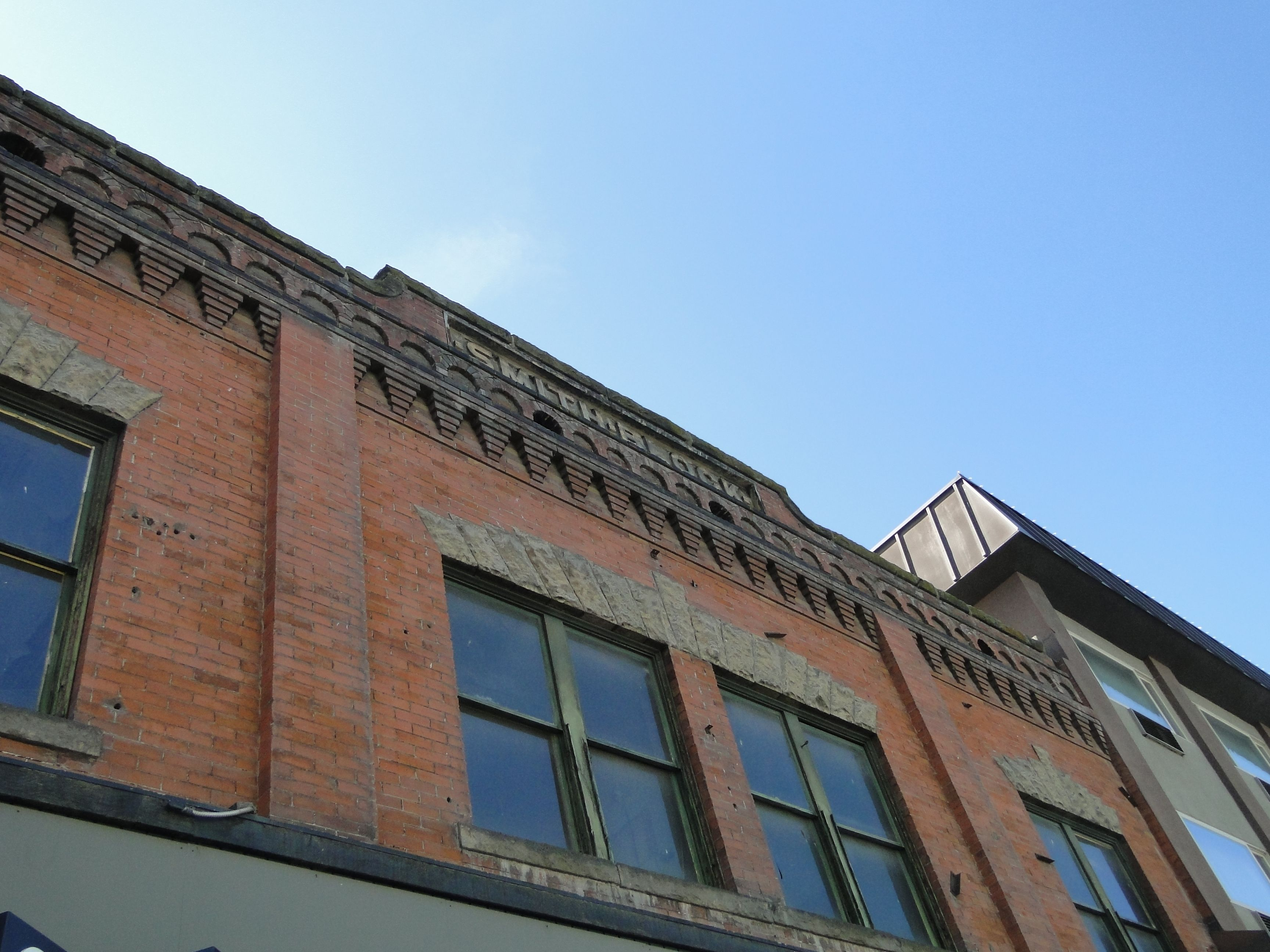 The Smith Block Building Was Constructed In Boise During 1905 C Copyright By Marty Nelson Photographer Web Si Landmark Buildings Architecture Details Building