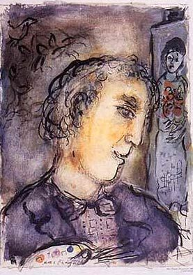 Image result for chagall self portrait