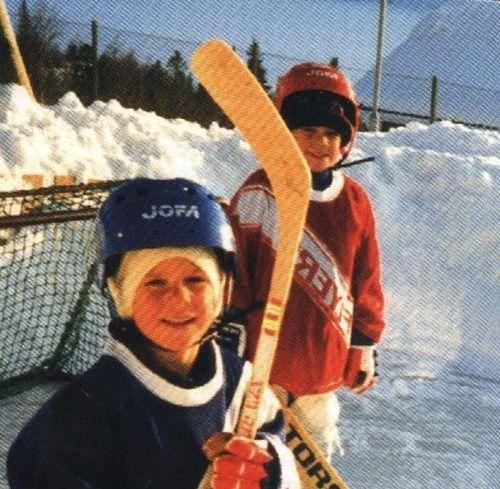 Joel Lundqvist Henrik Lundqvist When They Were Young