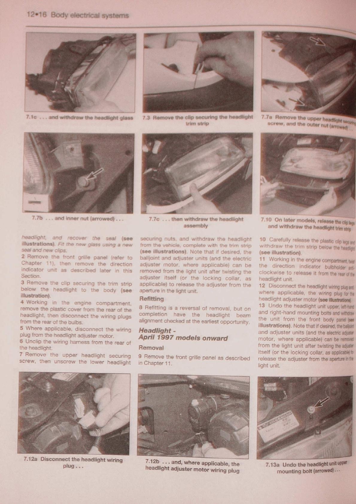 Peugeot 306 Workshop Manual Haynes PDF