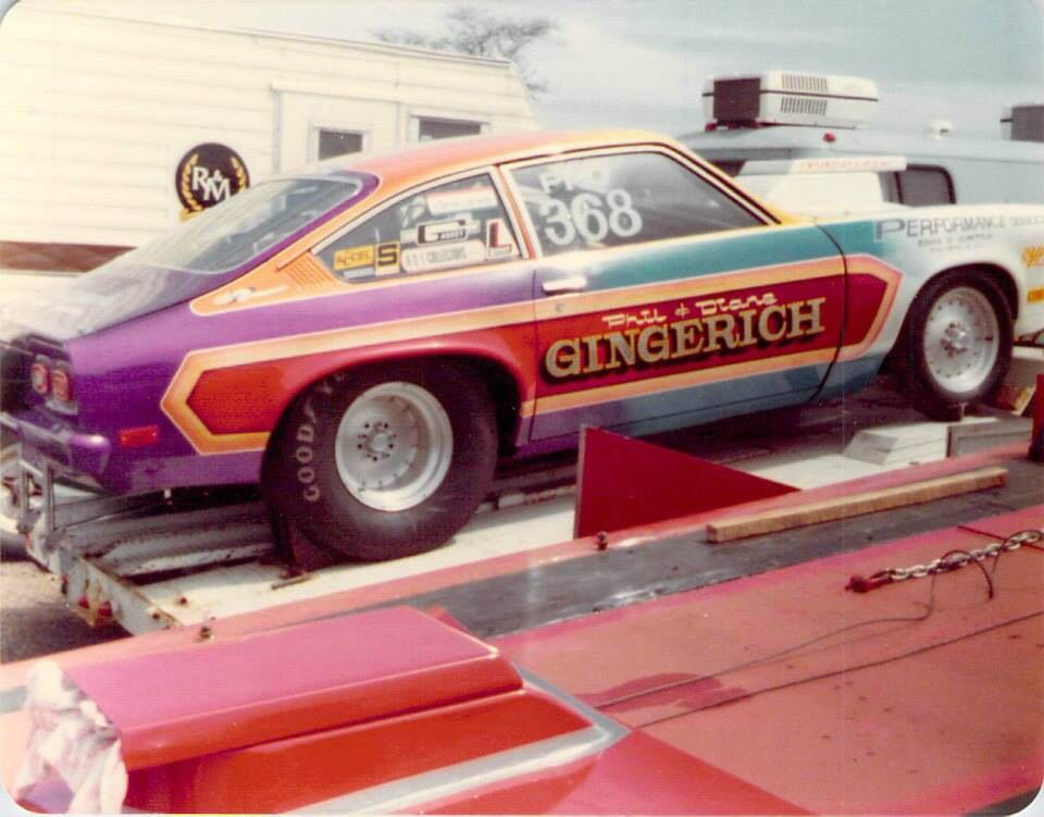 Vintage Drag Racing - Pro Stock - Chevy Vega - Gingerich | Drags ...