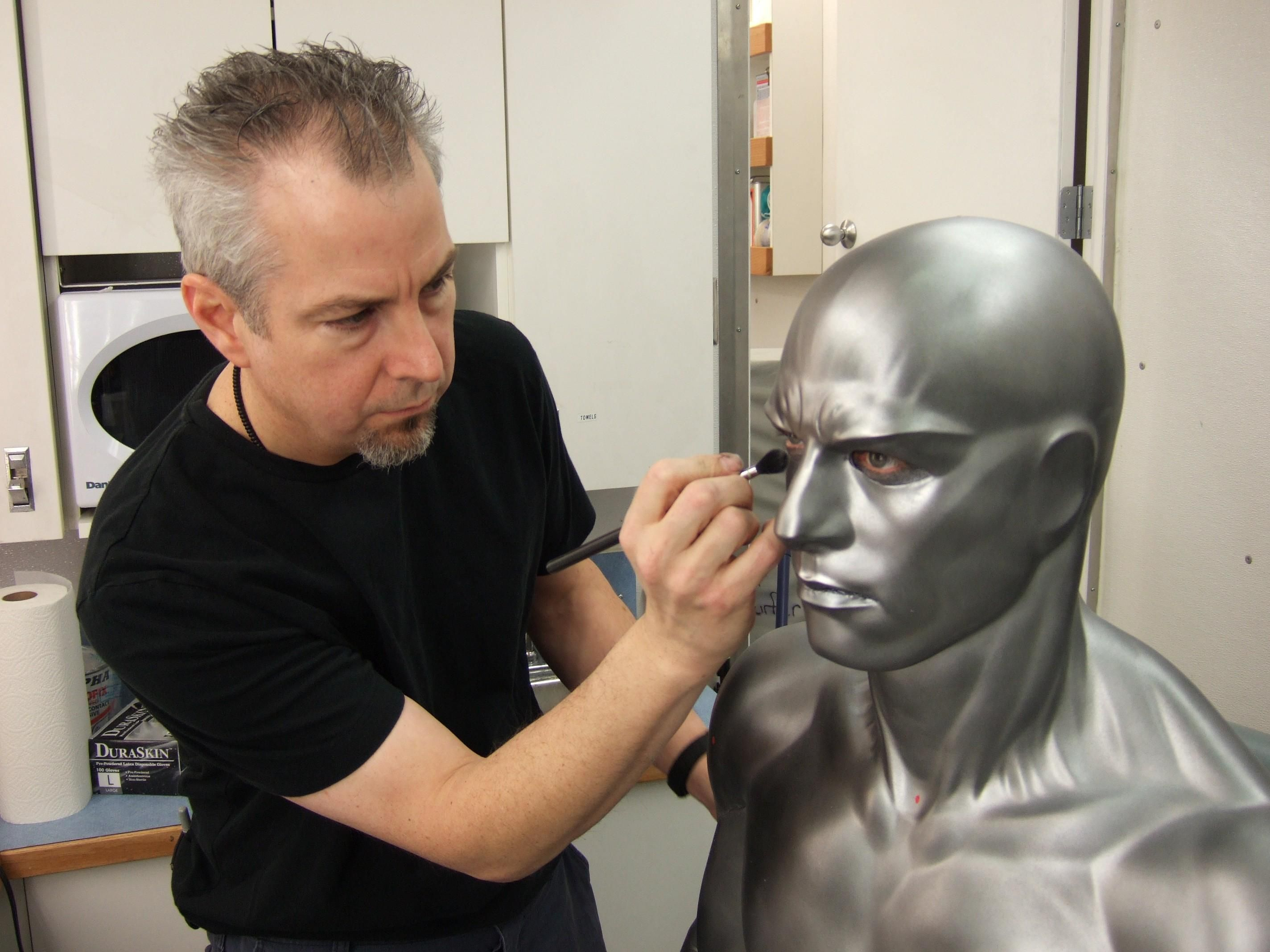 Silver Surfer Making Up II Como maquillarme, Maquillaje