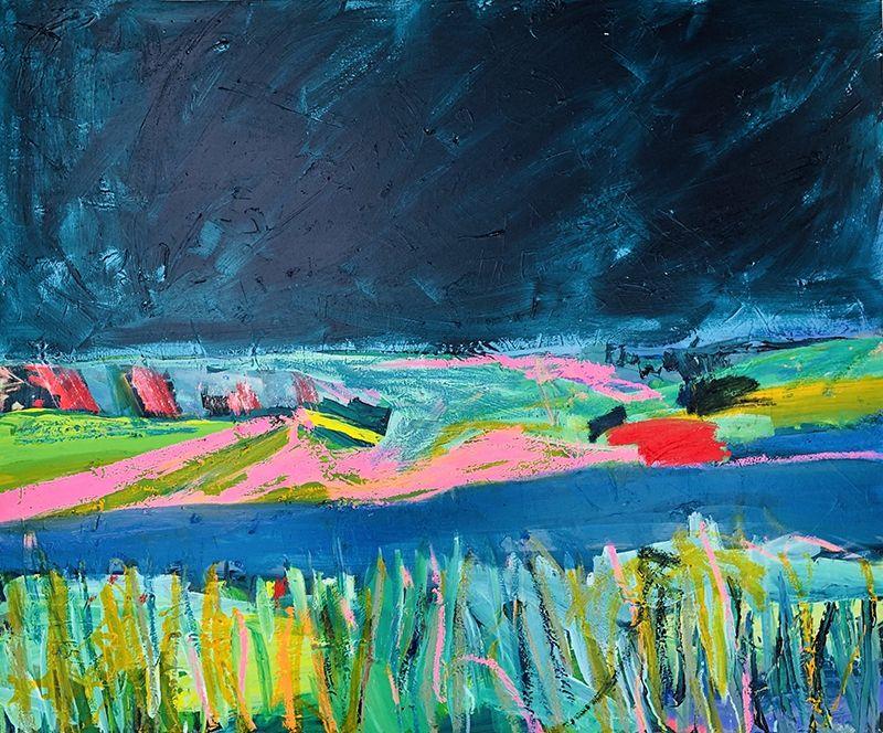 Landscape Iii By Emily Powell Gallery Of Modern Art Art Terms Landscape