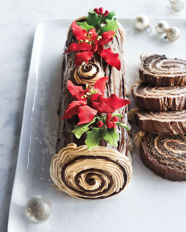 Frosted Art Bakery Buche de Noel Cake, For 12-24 People ...
