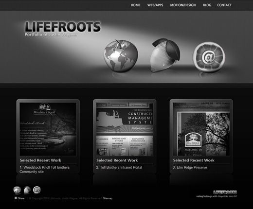 17 best images about web design ideas on pinterest coloring the black and gray web