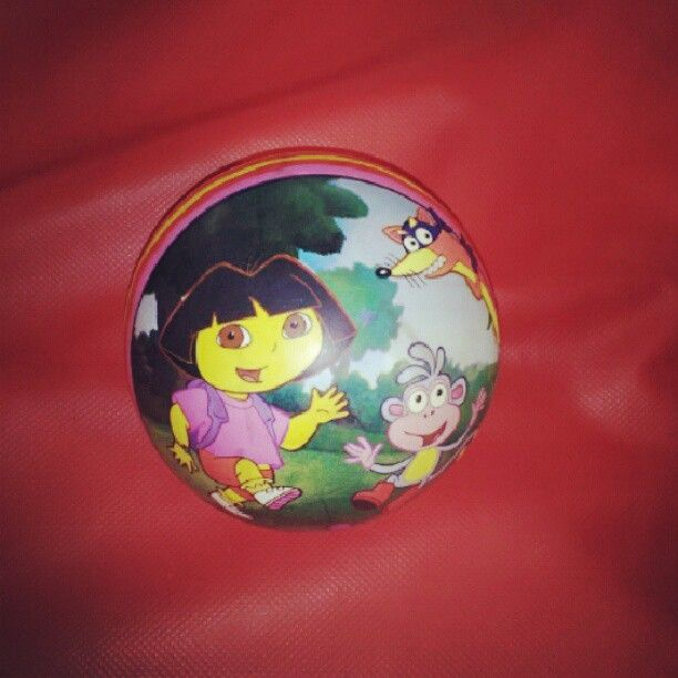 A-Dora-ball...oh puns. How I love thee.