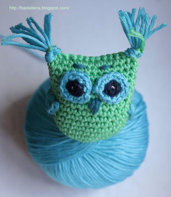 crochet owl Eule häkeln, tutorial, pattern | Amigurumi | Pinterest ...
