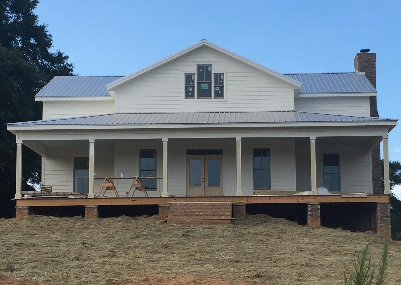 A White Farmhouse