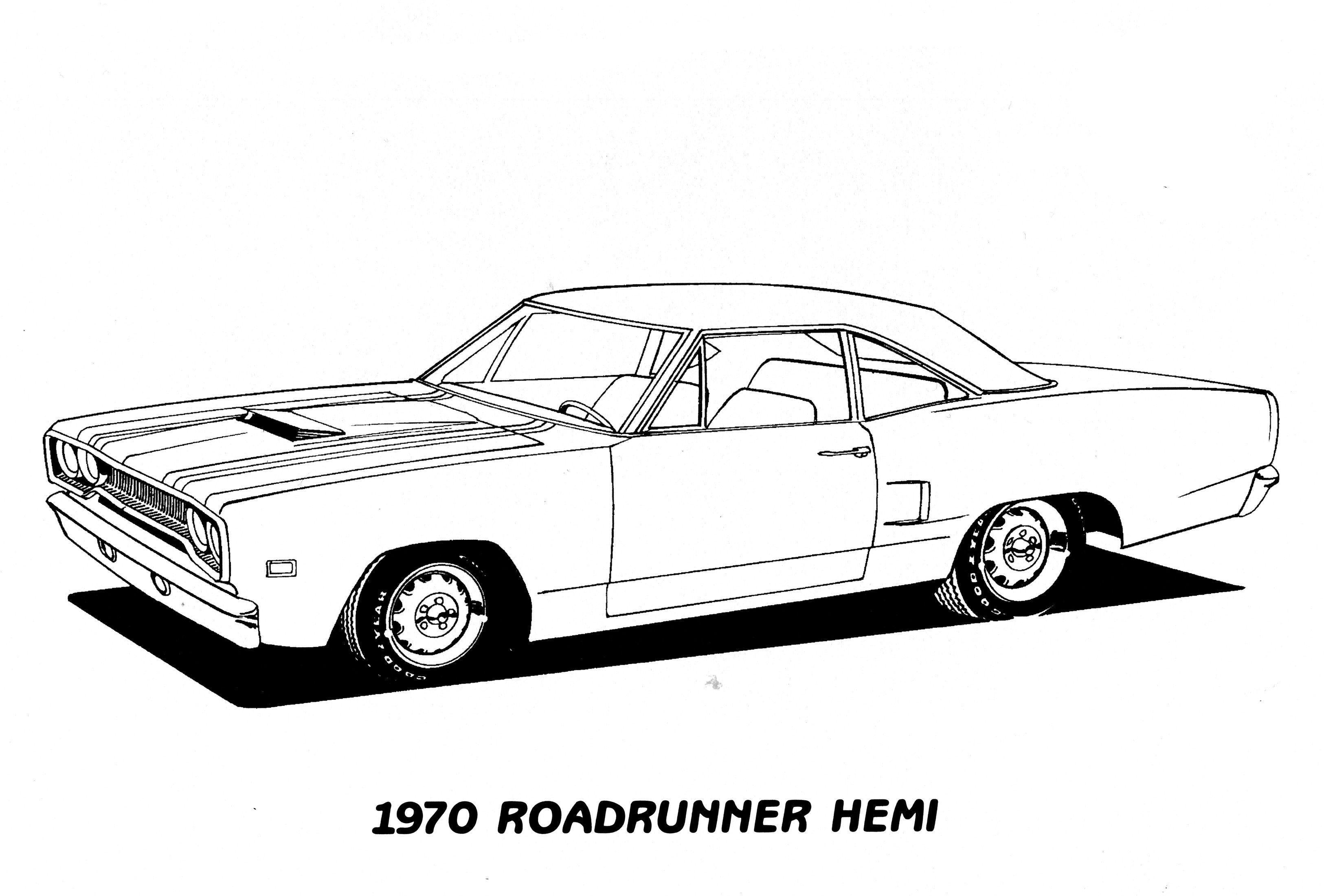 Roadrunner Hemi Cars