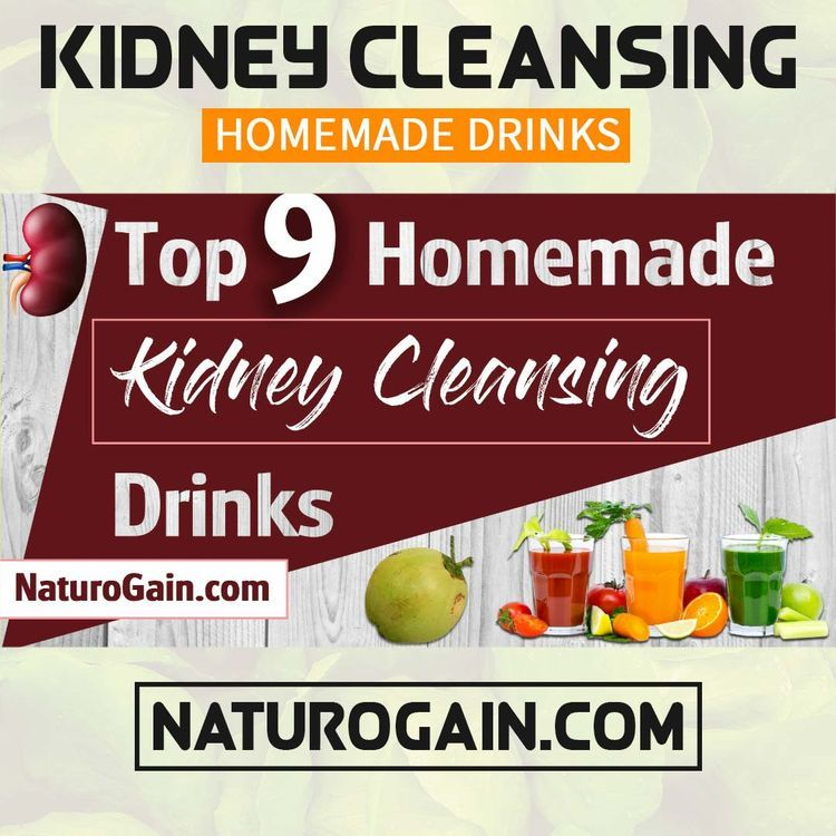 Homemade Kidney Cleansing Drinks