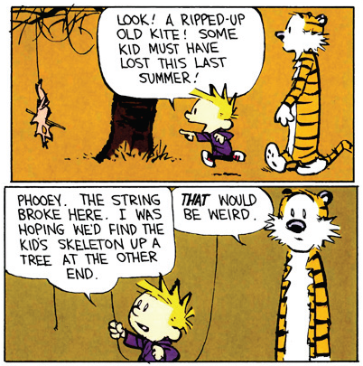 Calvin and Hobbes — Weirdness