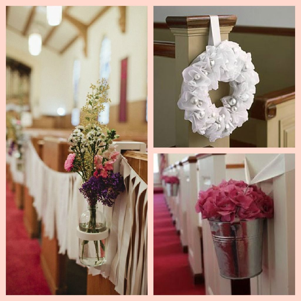 Wedding Decoration Ideas For Church Ceremony: Church Wedding Decorations Aisle