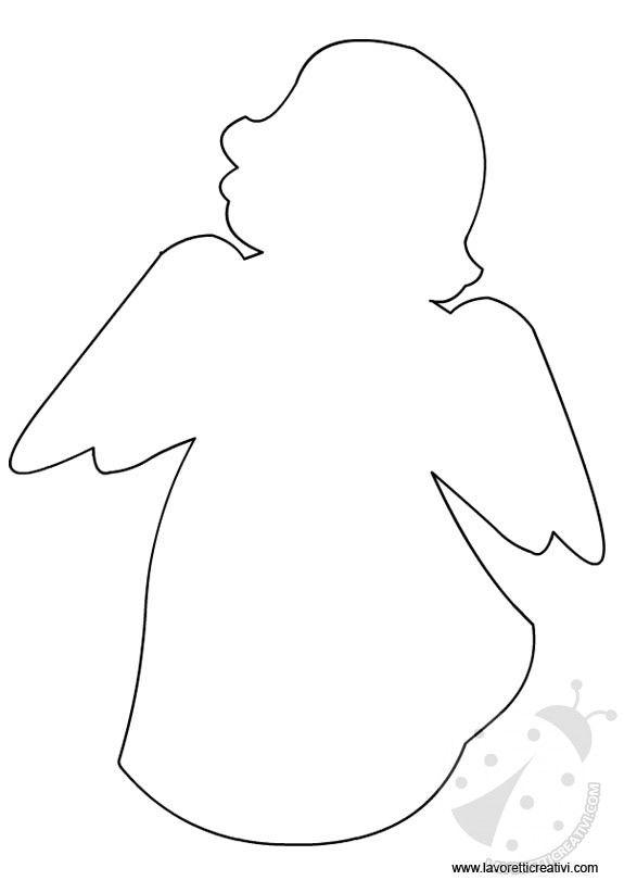 Sagoma Angelo Immagini Sagome Angeli E Decorazioni