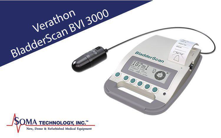 Verathon Bladderscan Bvi 3000 Bladder Scanner Ultrasound Bladder Bvi Ultrasound