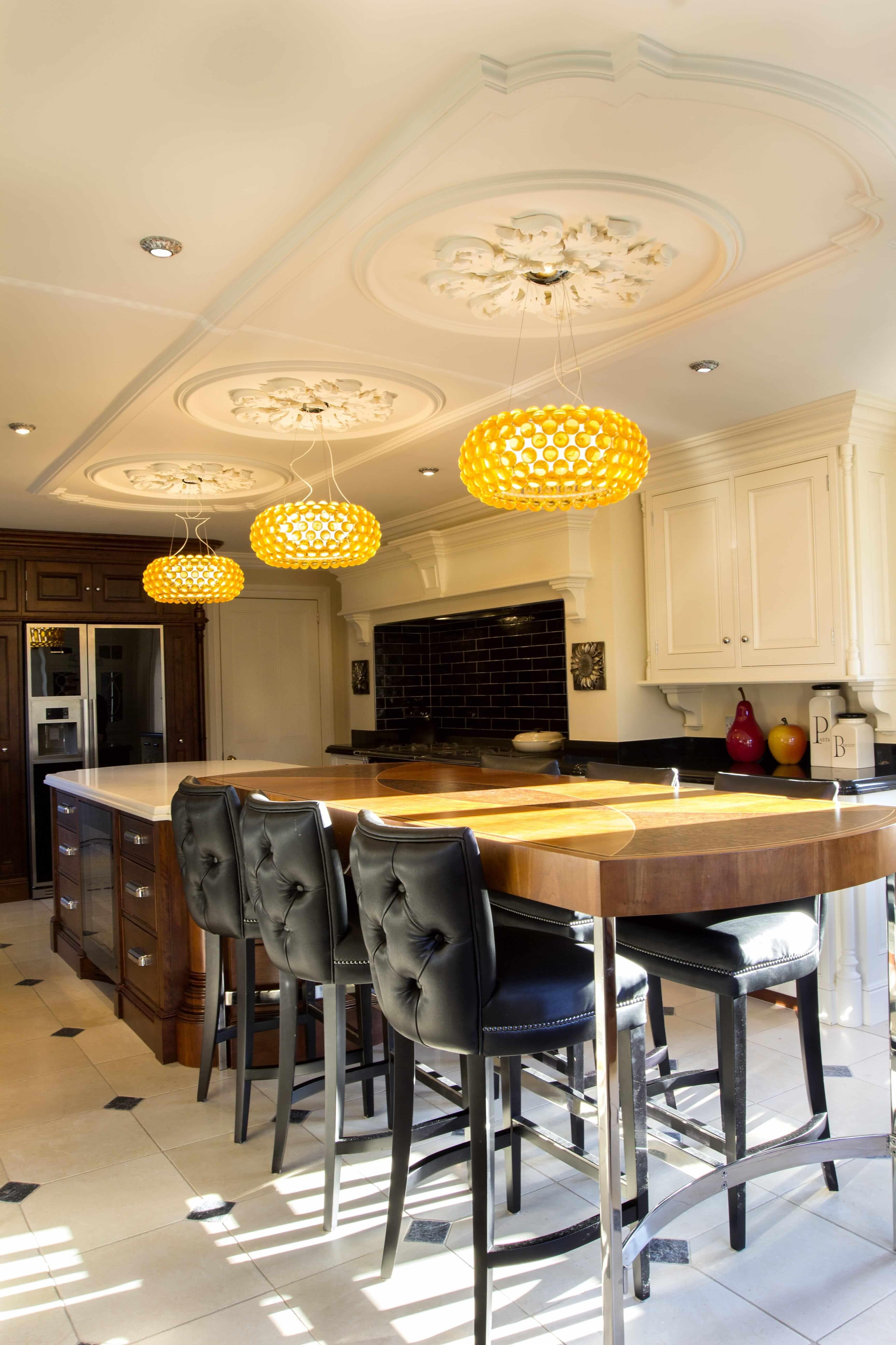 Kitchen Design, Traditional Kitchen, Ceiling Medallions