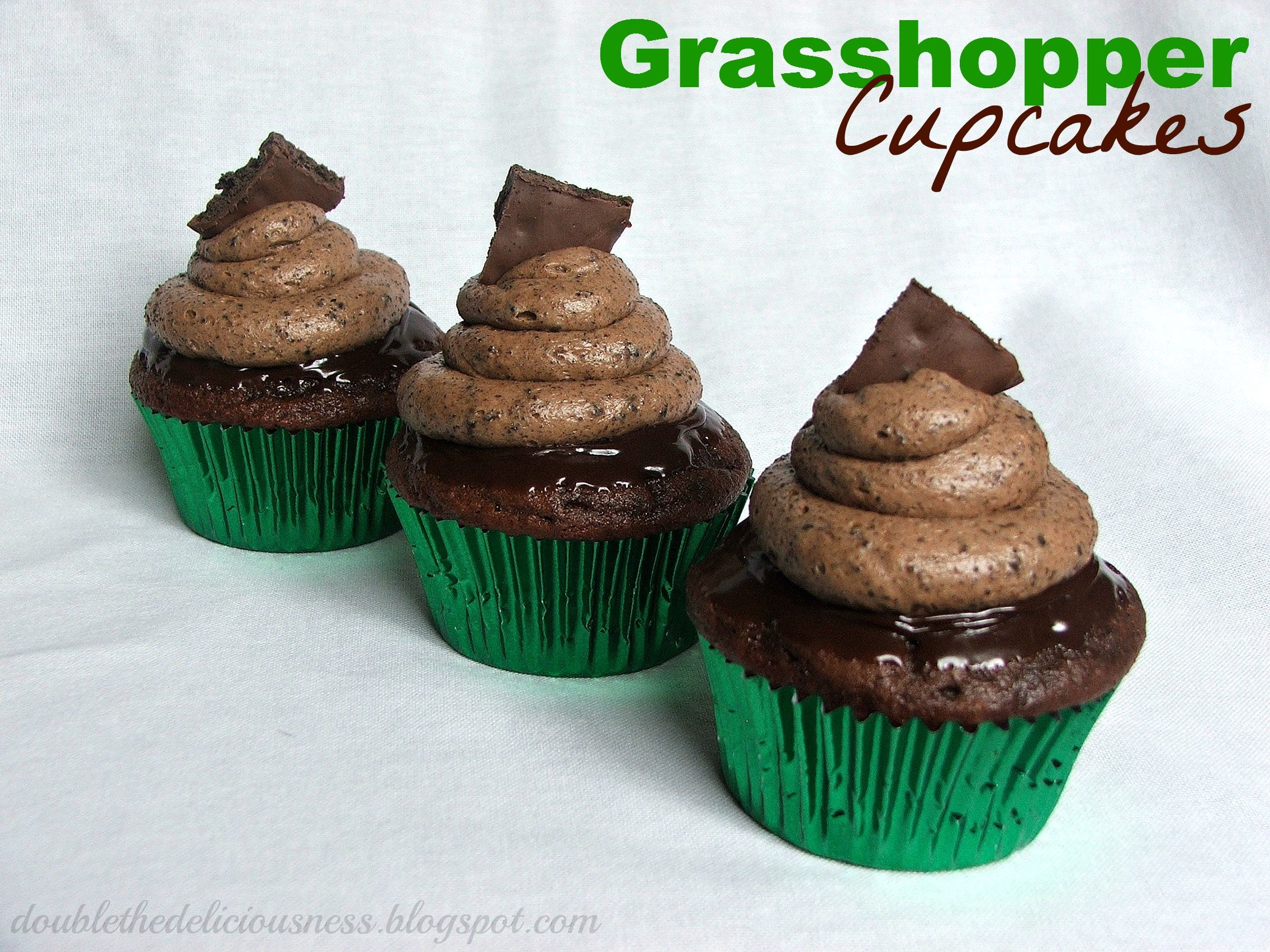Grasshopper Cupcakes Recipe With Images Cupcake Cakes Cake
