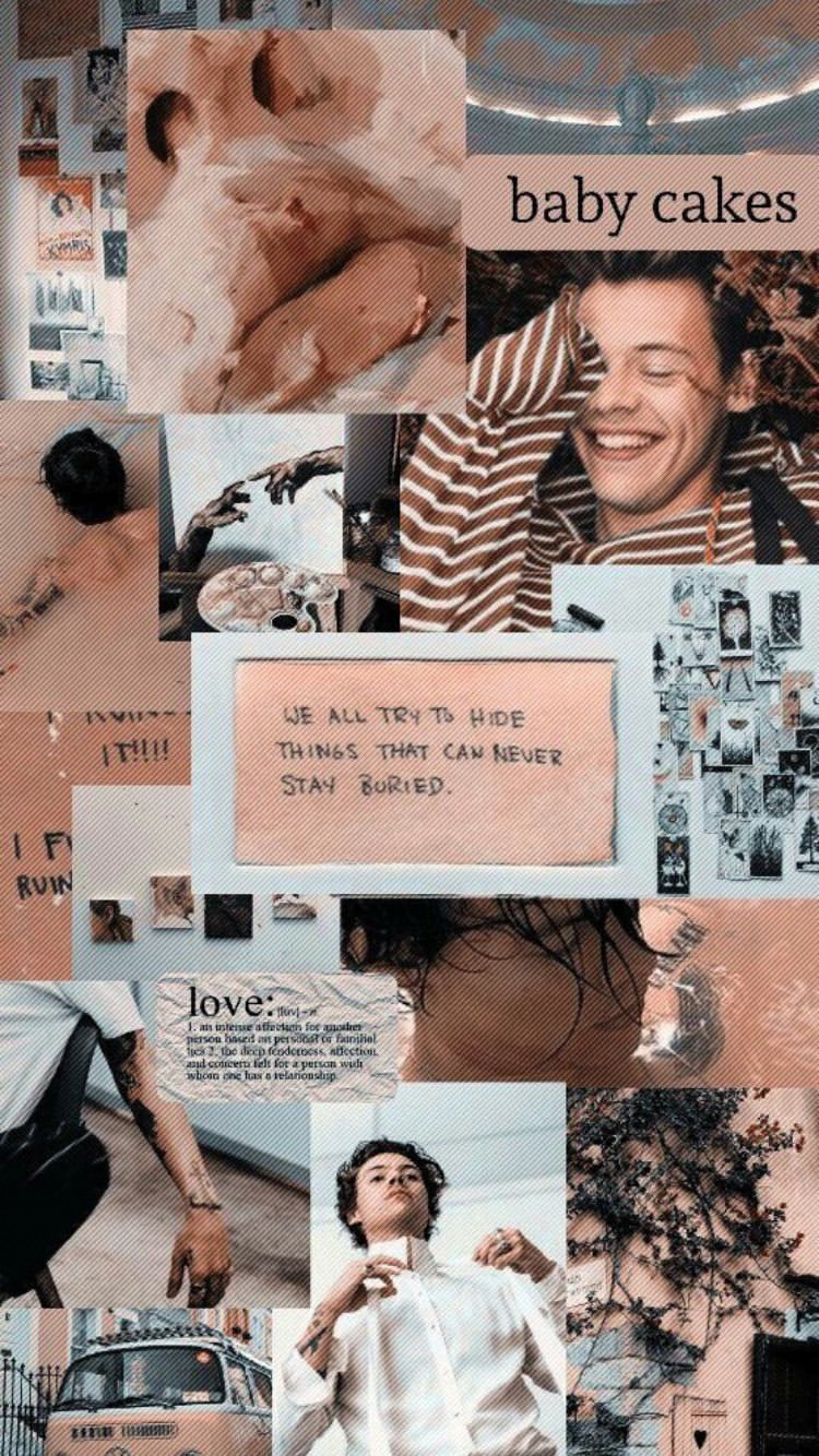 Aesthetic Harry Styles Collage