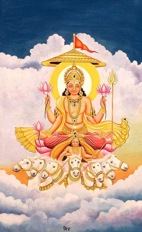 The Twelve Sun Gods 12 Adityas And Their Associates Hinduism Art Hindu Deities Hindu Gods