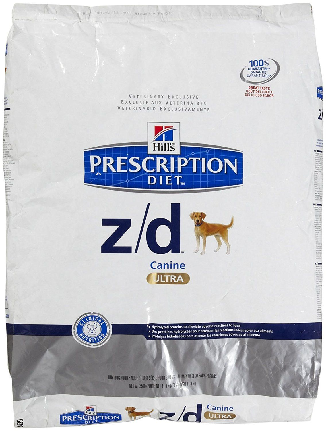 Hill S Prescription Diet Z D Canine Ultra Allergen Free Dry Food 25 Lb Bag You Can Find Out More Details At The Dog Food Recipes Free Dog Food Dry Dog Food