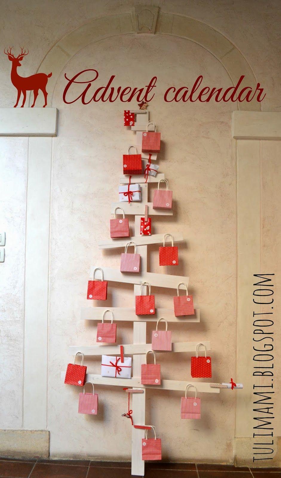 Favori Il fai-da-te di oggi è un albero di legno che diventa calendario  EA38