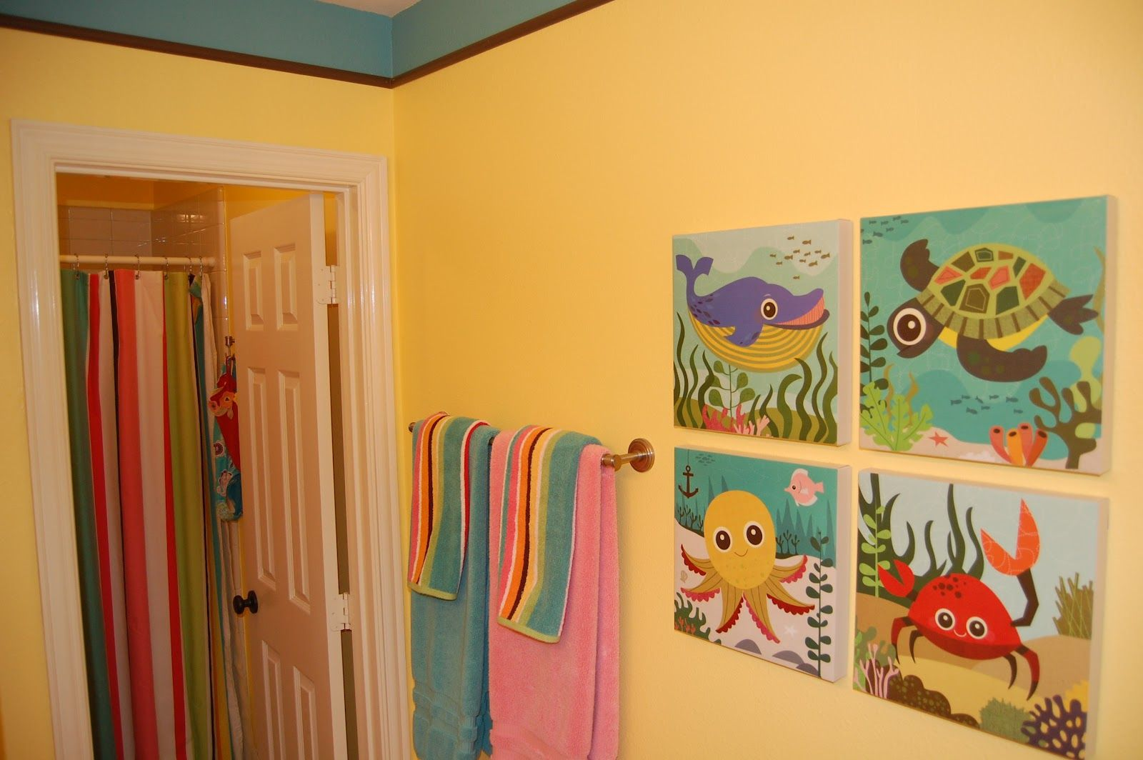 Image detail for -Kids Bathroom Art kids bathroom decor – Home ...