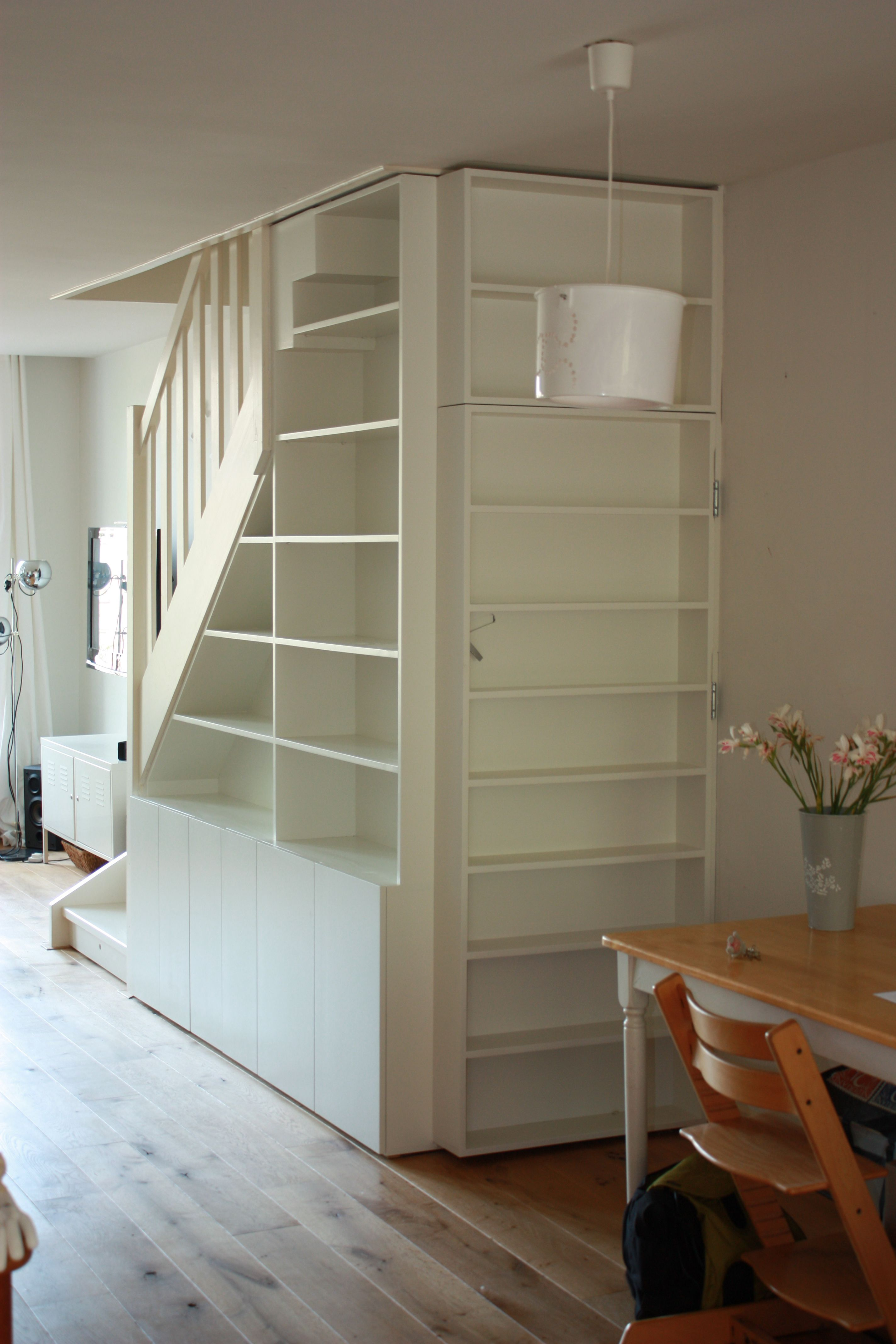 Trapkast | Woonkamer | Pinterest | Staircases, House and Organizing