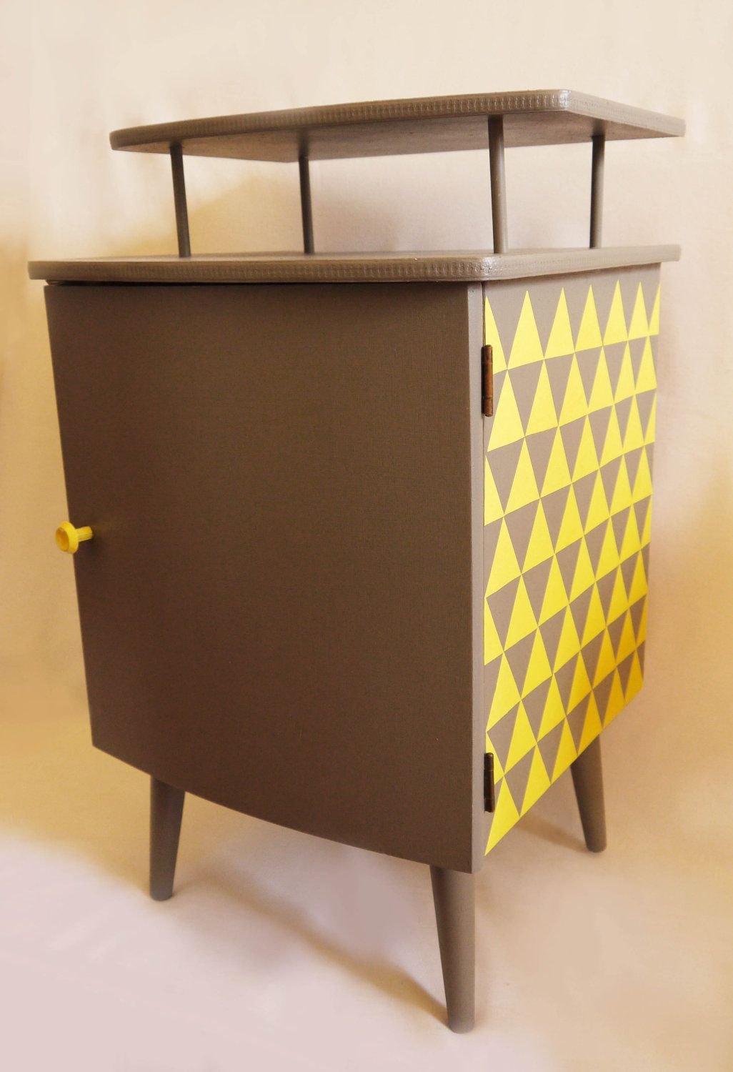 Best Up Cycled Mid Century Bedside Cabinet £75 00 Via Etsy 640 x 480