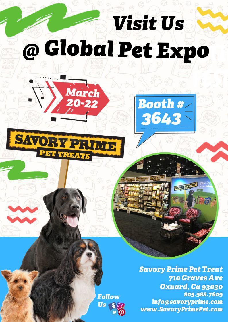 Savory Prime At Global Pet Expo 2019 Pets Pet Treats Say Hello