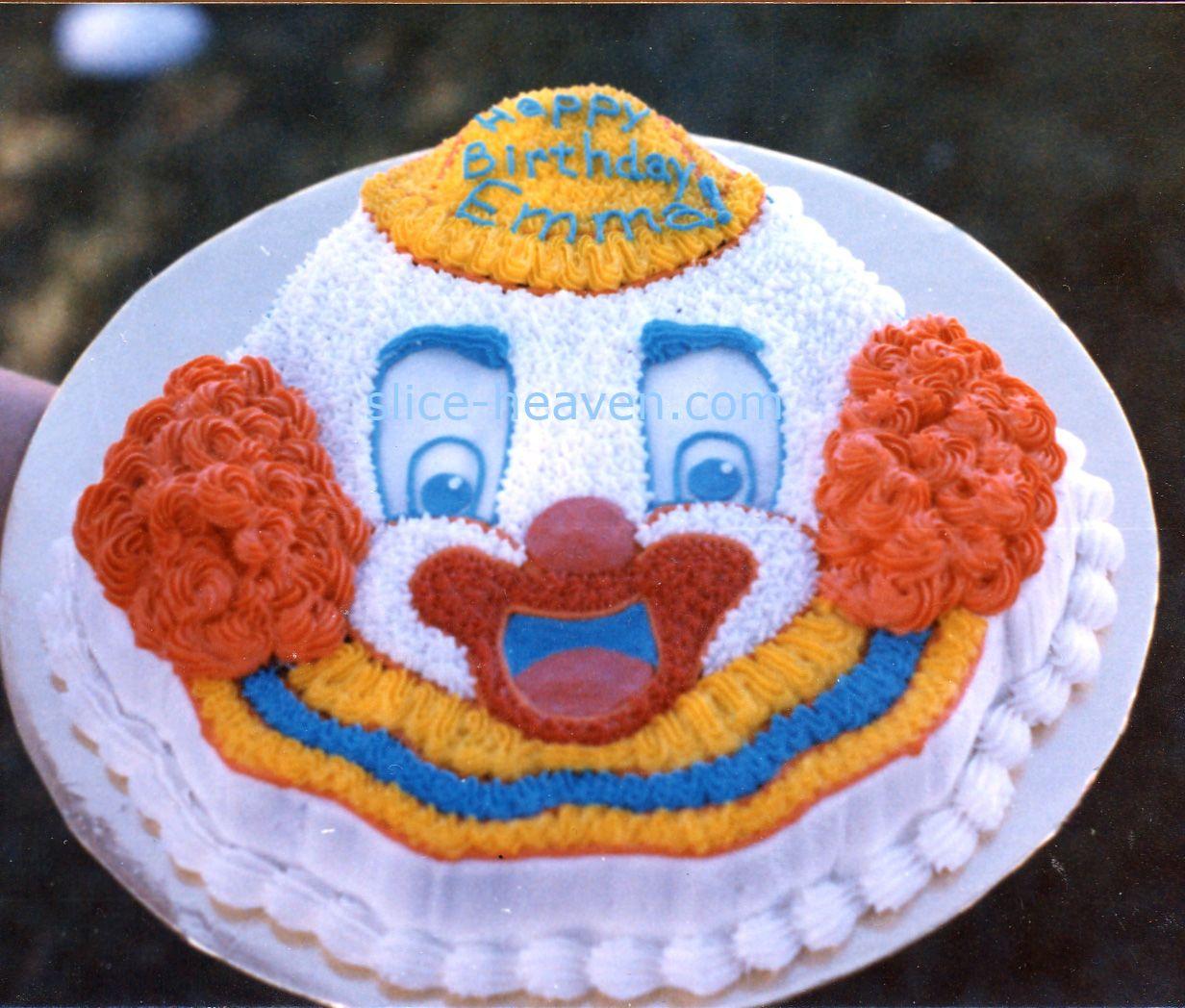 Happy Clown Cake Pan Send in The Clowns Pinterest Clown cake