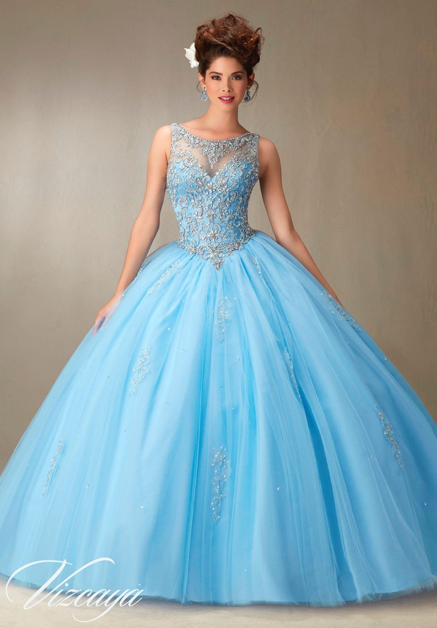 Mori Lee Quinceanera Dress 89067 | Vestido de 15 año, Quinceañera y ...