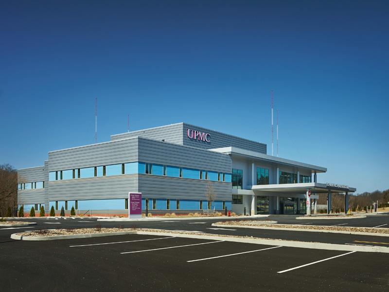 UPMC Logan Medical Center Medical center, Service design