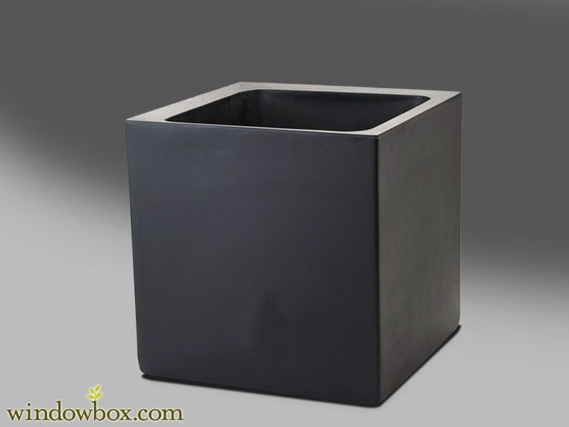 Black square outdoor planters home design ideas black square outdoor planter pot windowbox landscapes workwithnaturefo