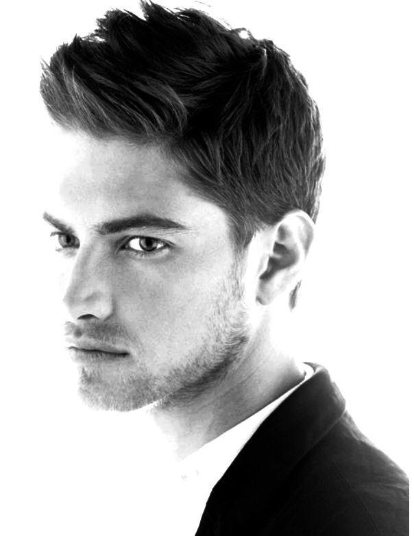Men's short and textured haircut