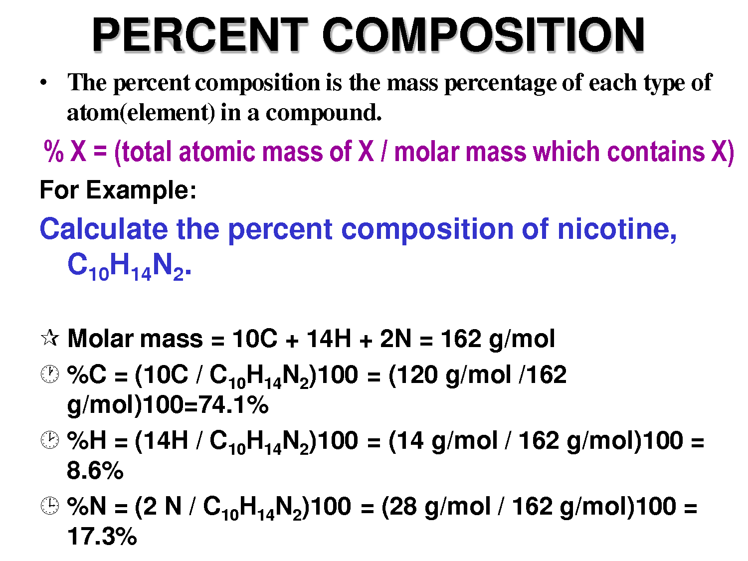 Molar Mass And Percent Composition Worksheet Answers