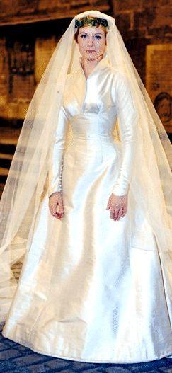 Maria S Wedding Dress The Sound Of Music Costume Designer Dorothy Jeakins