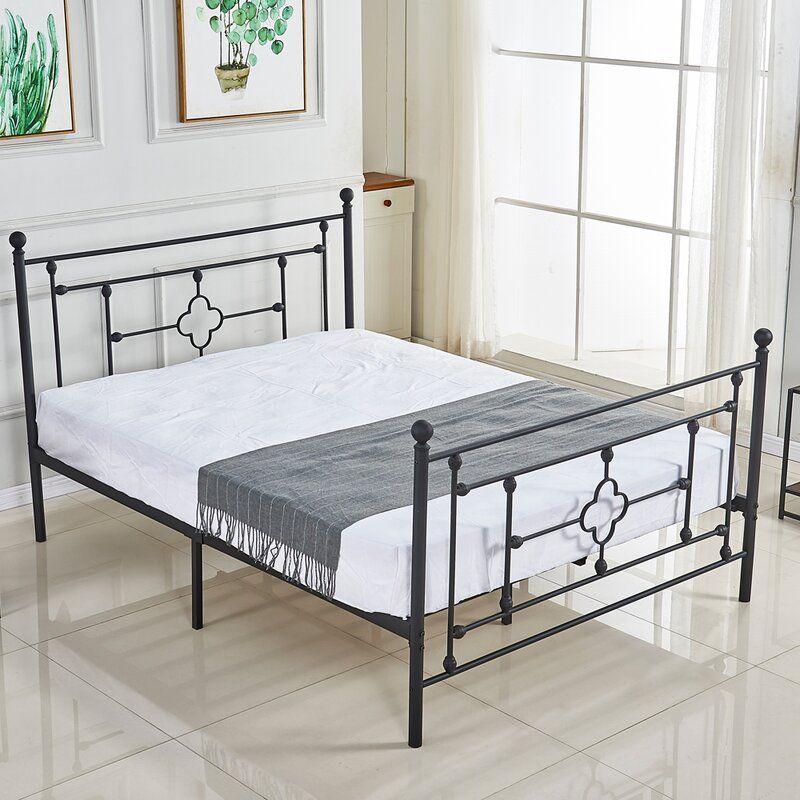 Kiester Platform Bed In 2020 Twin Size Bed Frame Bed Frame