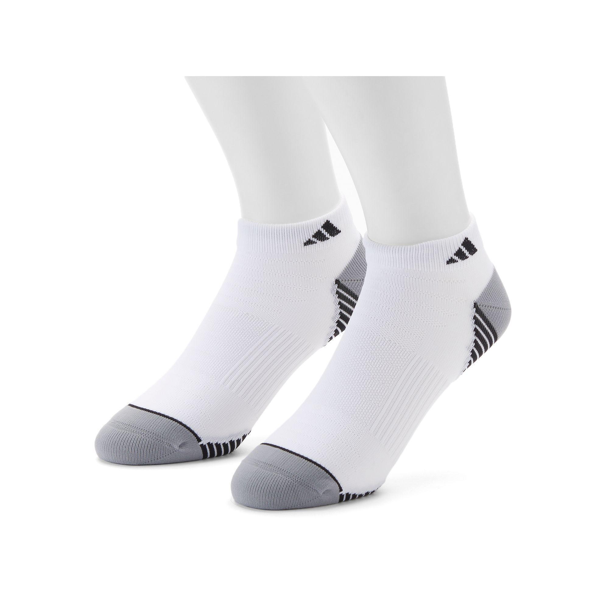 adidas Mens Superlite No Show Socks 2-pack