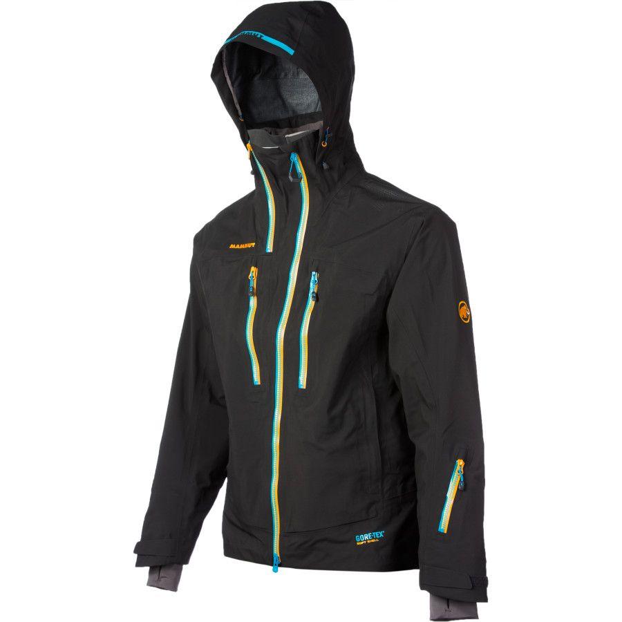 Mammut Alyeska Gtx Pro 3l Jacket Men S Ski Jacket Mens Jackets Mens Jackets