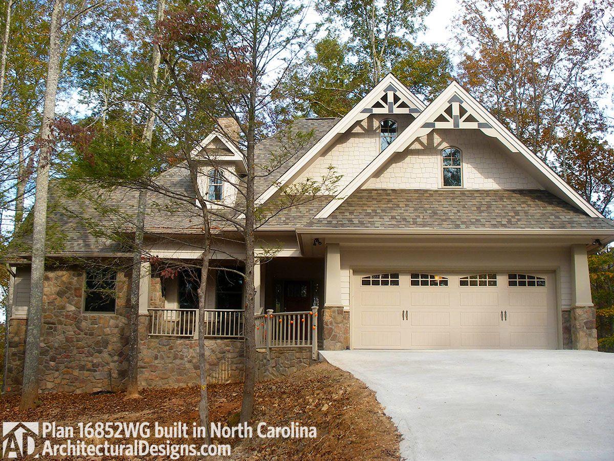 Architectural Design Mountain Craftsman House Plan