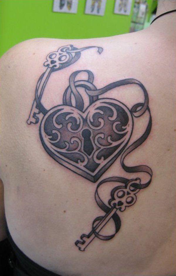 61 Impressive Lock and Key Tattoos | Pinterest | Key tattoos, Tattoo ...