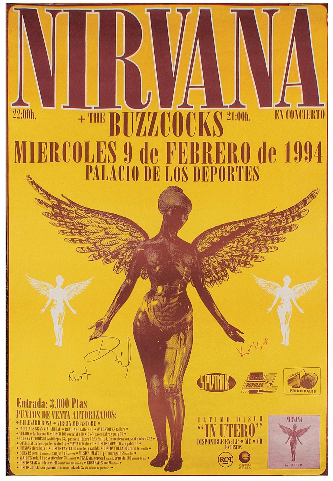 nirvana poster show - Pesquisa Google | Quadrinhos ...