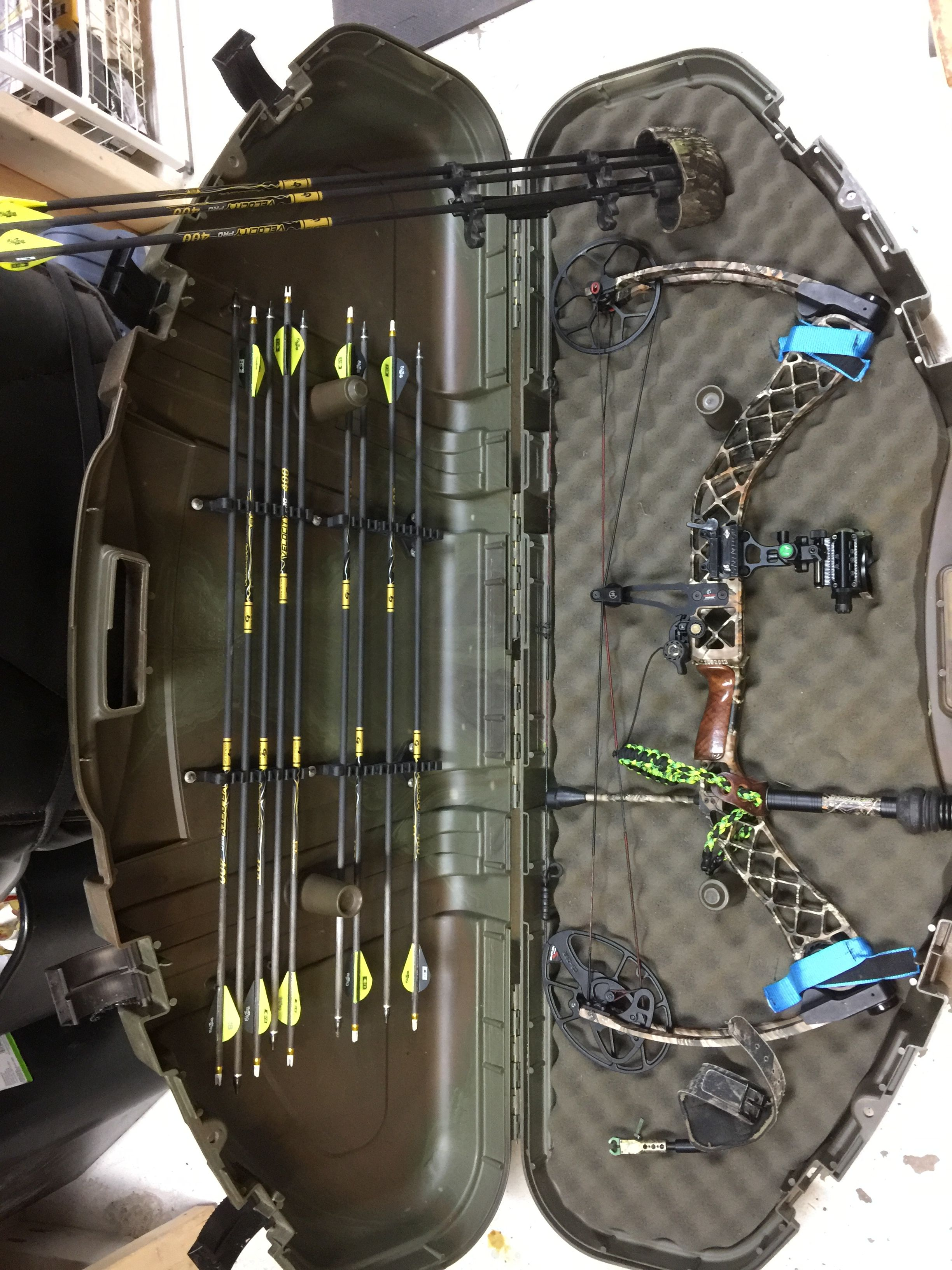 Mathews creed lost camo edition with iq 5 pin bow sight