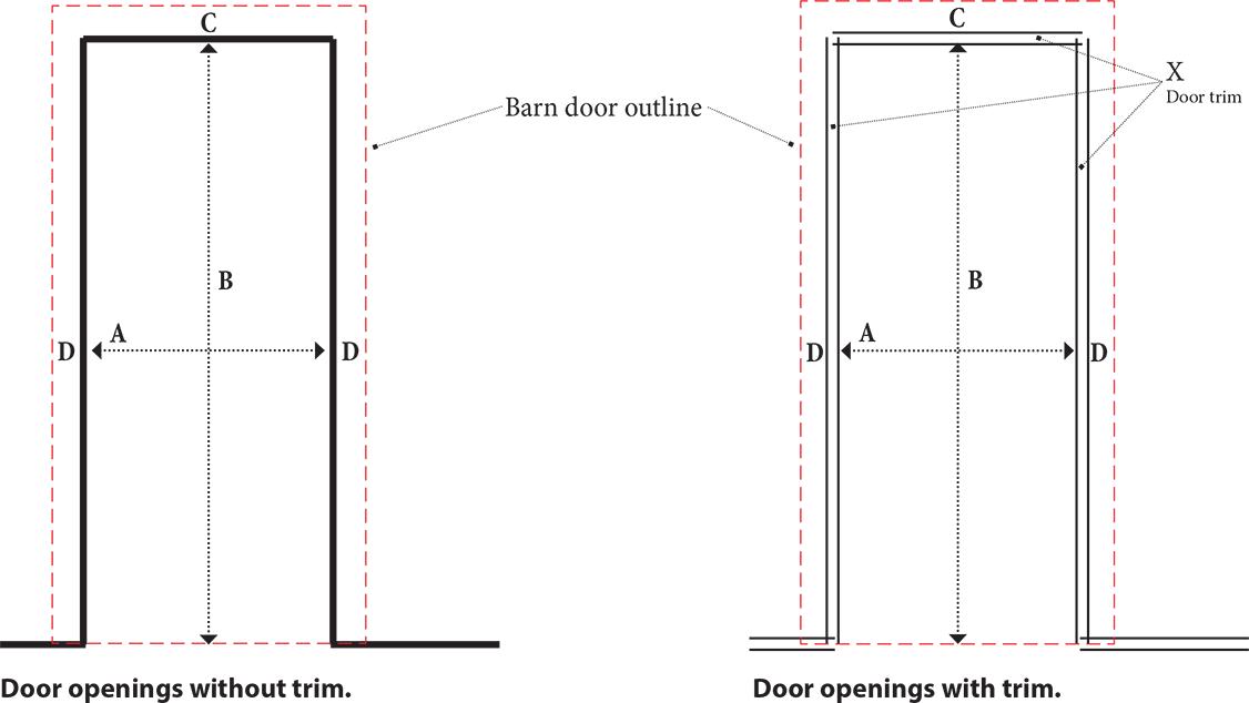 How To Measure For A Barn Door International Door Company Barn Door Sliding Barn Door Sliding Barn Door Closet